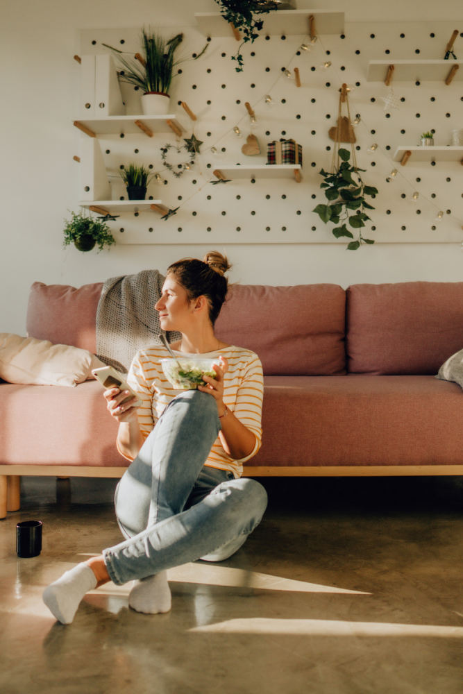 tips for living alone for the first time