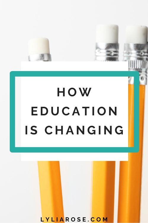 How education is changing