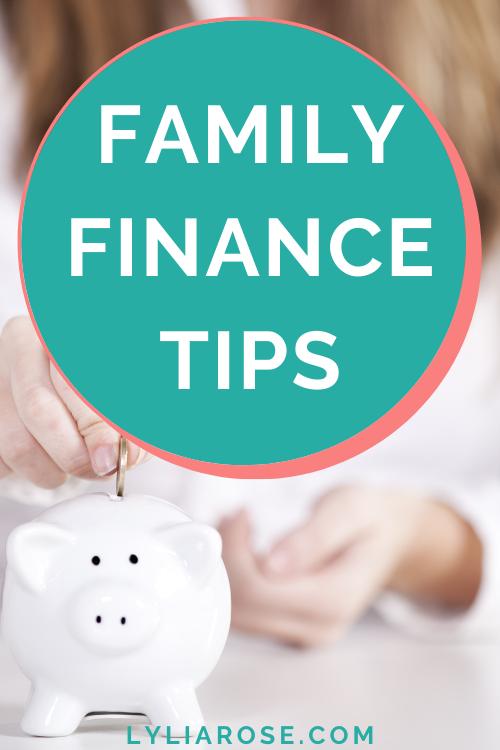 family finance tips