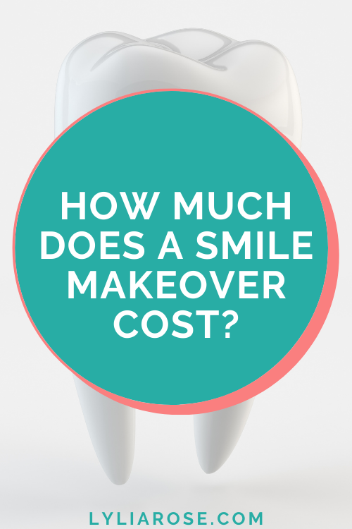 How much does a smile makeover cost