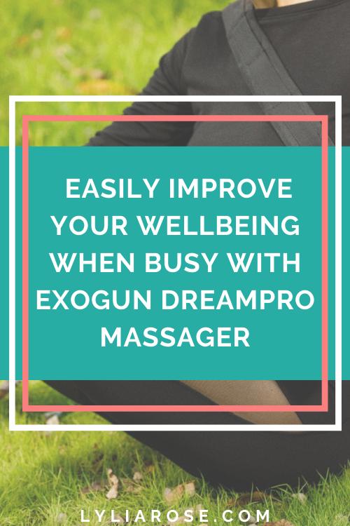 ExoGun DreamPro Massager Deep tissue bliss for less than 50p