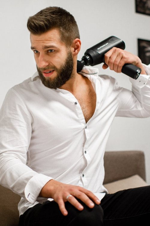 ExoGun DreamPro Massager for busy people