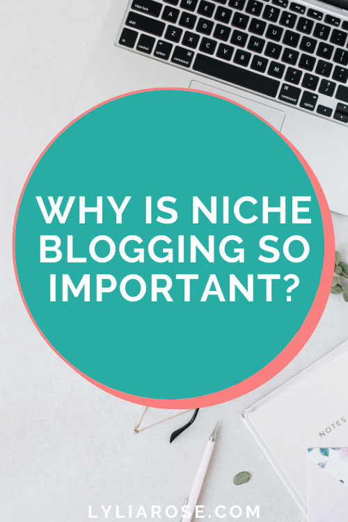 Why is niche blogging so important