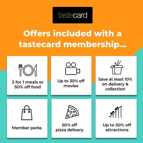 tastecard save money family entertainment