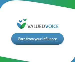 make money blogging with valued voice
