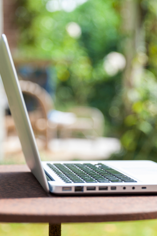 how to successfully work from your garden this summer