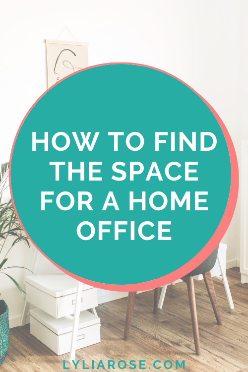 How to find the space for a home office