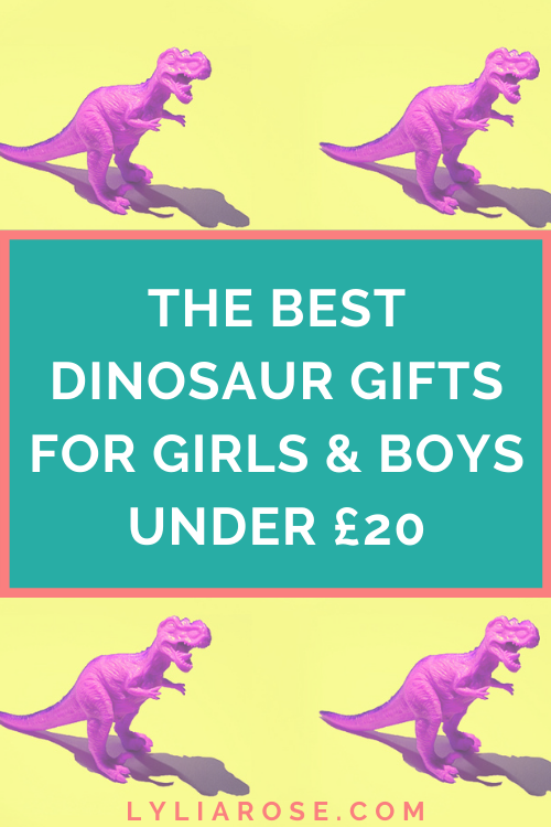 The best dinosaur gifts for girls and boys under £20
