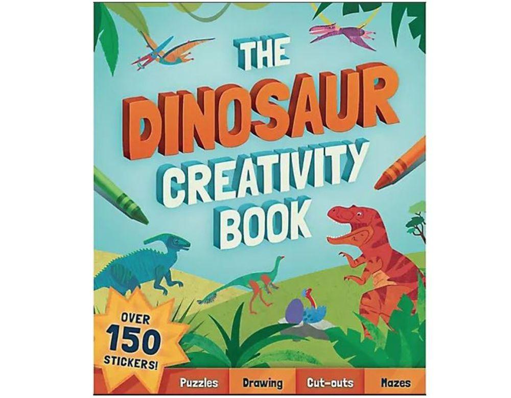 dinosaur activity book gift