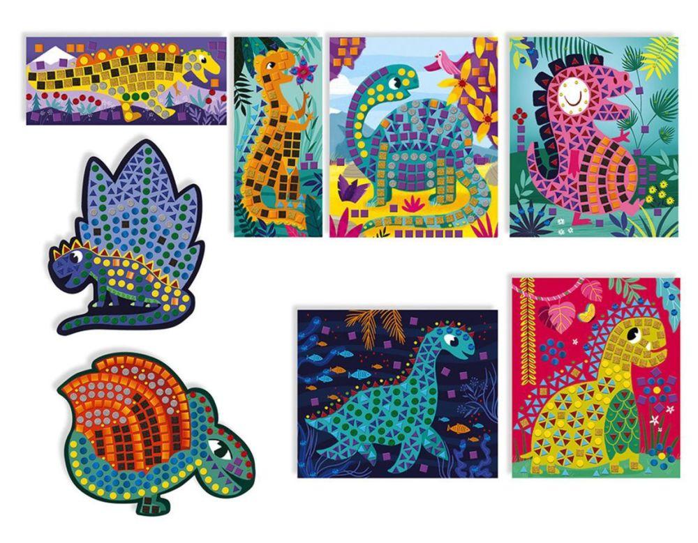 dinosaur mosaic craft kit