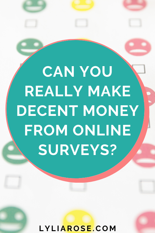 Can you really make decent money from online surveys (2)
