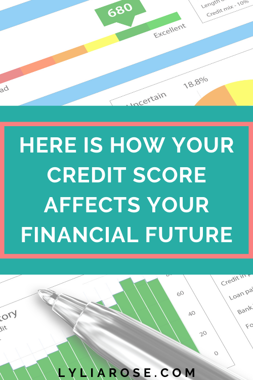 Here is how your credit score affects your financial future (1)