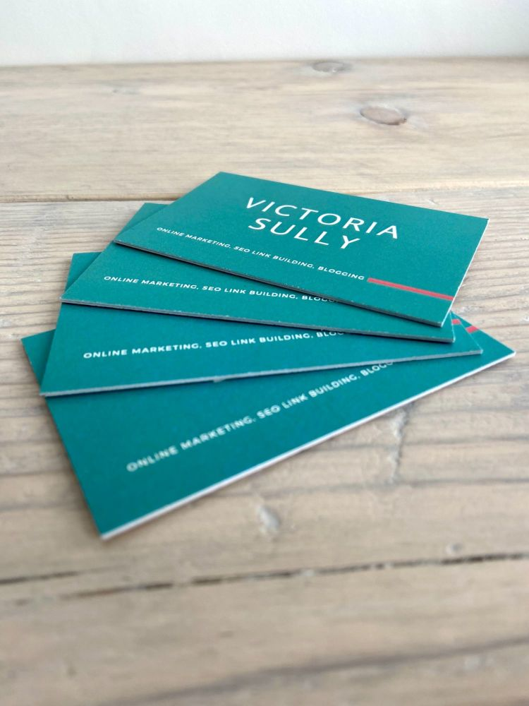 Aura Print recycled business card review