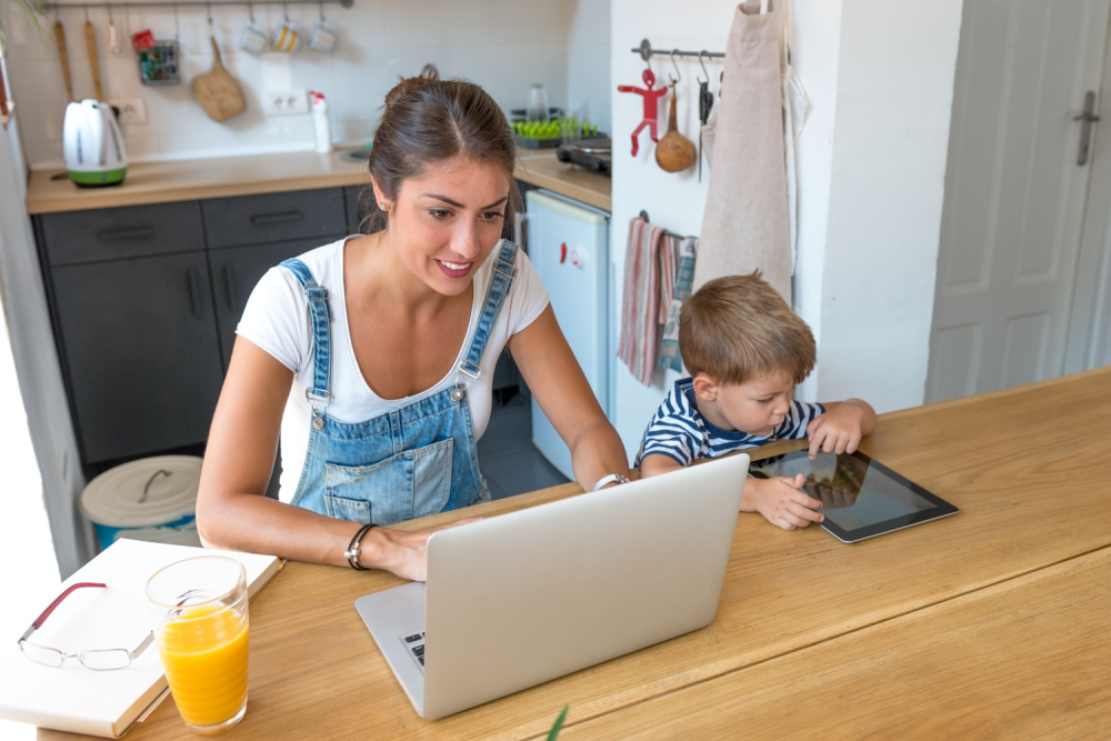 How to work from home + stay productive
