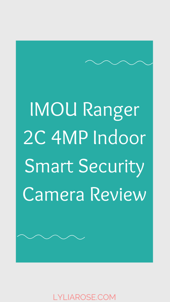 IMOU Ranger 2C 4MP Indoor Smart Security Camera Review