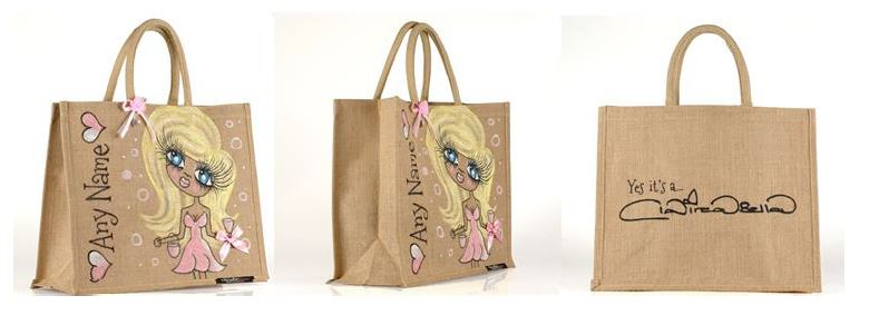 Personalised ClaireaBella Jute Bag Review