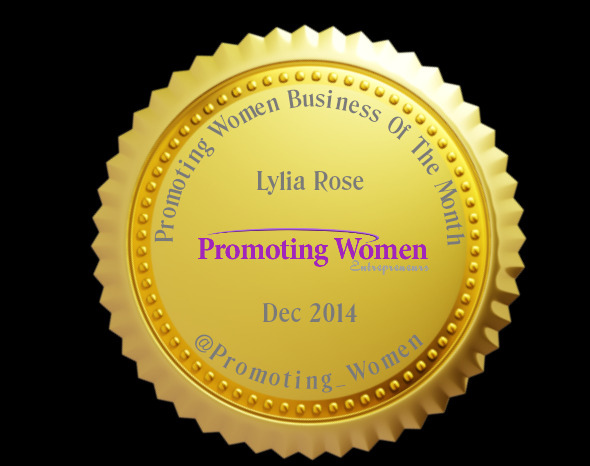 business of month #promotingwomen dec 2014
