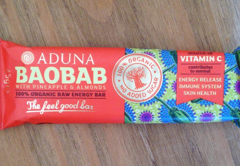 aduna baobab raw energy bar almond pineapple lylia rose healthy superfood s