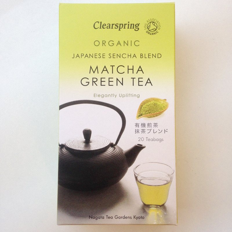matcha clearspring green tea bags lylia rose healthy food superfoods blog