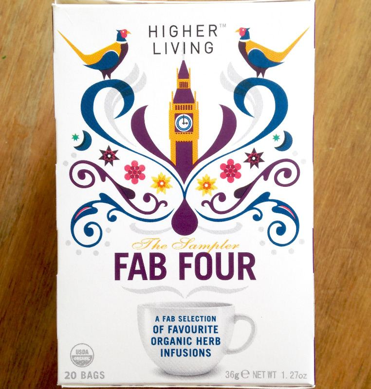 fab four higher living herbal tea bags lylia rose review food lifestyle blo