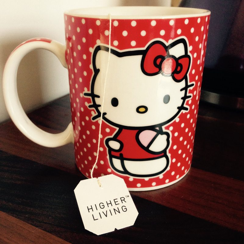 lylia rose fave favourite mug higher living herbal tea blog post
