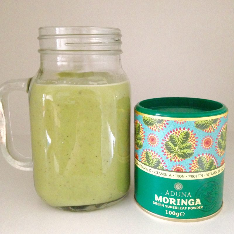 aduna moringa superleaf superfood powder green smoothie recipe blog lylia r