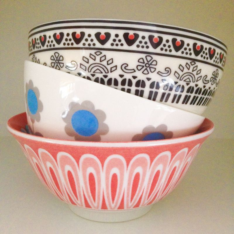 pretty painted bowls homesense china homewares lylia rose lifestyle blog