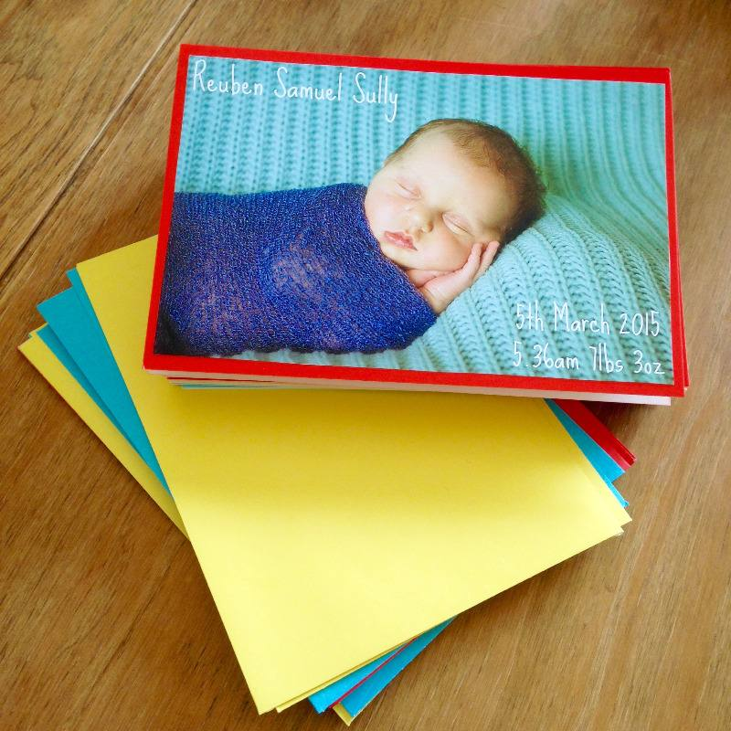 birth announcements lylia rose blog post lifestyle diy thank you cards