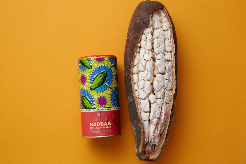 aduna baobab fruit dried powder lylia rose healthy blog post superfood