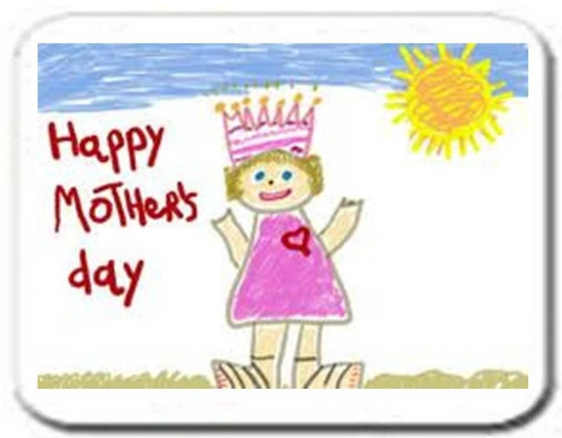 mothers day placemat