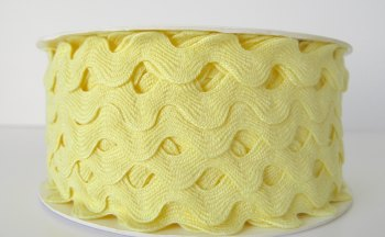 16mm Ric Rac - Lemon