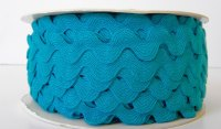 16mm Ric Rac - Turquoise