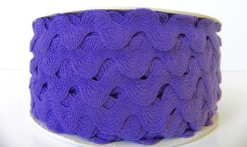 16mm Ric Rac - Purple