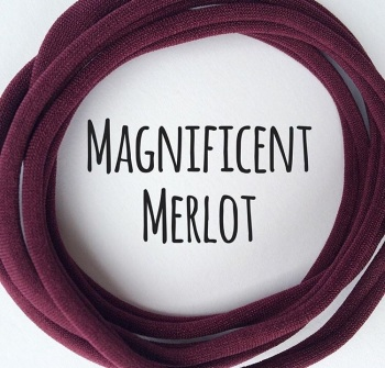 Merlot Dainties Nylon Headbands
