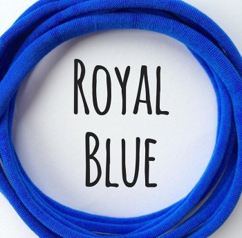 Royal Blue Dainties Nylon Headbands