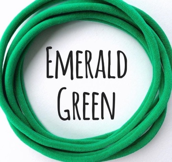Emerald Green Dainties Nylon Headbands