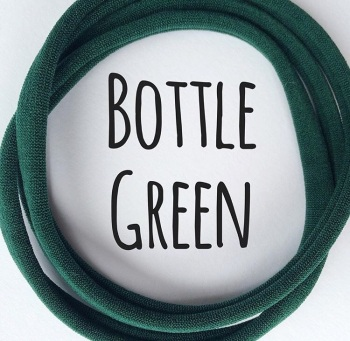 Bottle Green Dainties Nylon Headbands