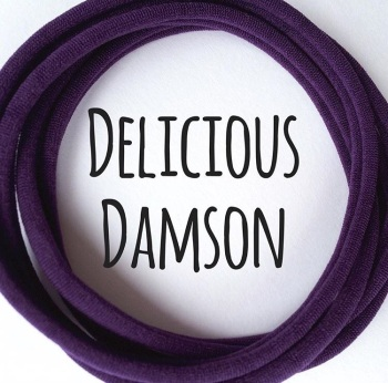 Delicious Damson Dainties Nylon Headbands