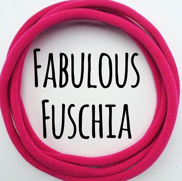 5 x Fabulous Fuchsia Dainties Headbands