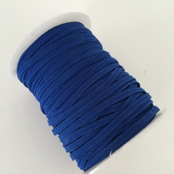 3mm Skinny Elastic - Royal Blue