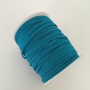 3mm Skinny Elastic - Turquoise