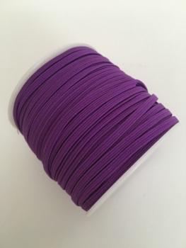 3mm Skinny Elastic - Cadbury Purple