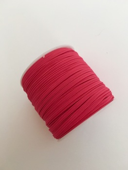 3mm Skinny Elastic - Hot Pink