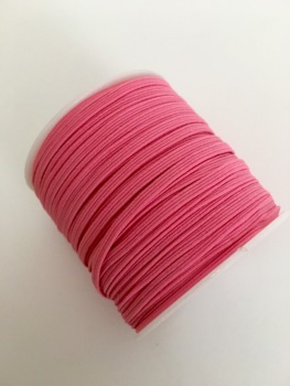 3mm Skinny Elastic - Candy Pink