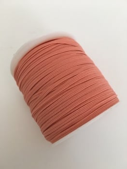 3mm Skinny Elastic - Peach