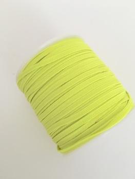 3mm Skinny Elastic - Neon Yellow