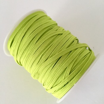 3mm Skinny Elastic - Lime