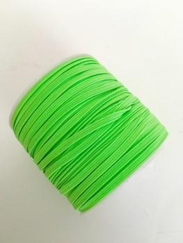 3mm Skinny Elastic - Neon Green