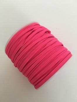 3mm Skinny Elastic - Neon Pink