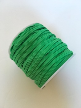 3mm Skinny Elastic - Emerald